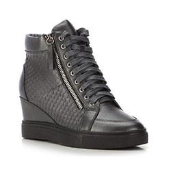 Dámské boty, šedá, 87-D-914-8-38, Obrázek 1