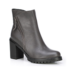 Dámské boty, šedá, 87-D-958-8-37, Obrázek 1