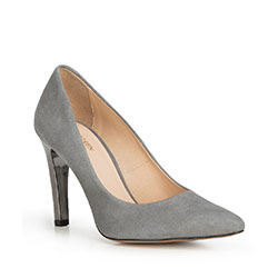 Dámské boty, šedá, 90-D-200-8-38, Obrázek 1