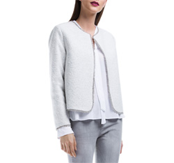 Dámské sako, šedá, 84-9W-109-8-L, Obrázek 1