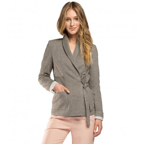 Dámské sako, šedá, 86-9W-110-8-S, Obrázek 1
