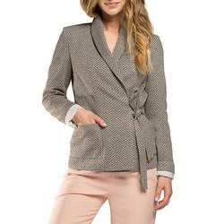 Dámské sako, šedá, 86-9W-110-8-XL, Obrázek 1