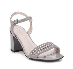 Dámské sandály, šedá, 88-D-968-8-36, Obrázek 1