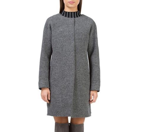 Dámský kabát, šedá, 83-9W-104-P-XL, Obrázek 1
