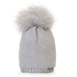 Dámský klobouk, šedá, 89-HF-002-8, Obrázek 1