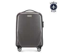 Kabinový cestovní kufr, šedá, 56-3P-571-70, Obrázek 1