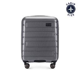 Kabinový cestovní kufr, šedá, 56-3P-831-00, Obrázek 1