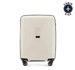 Kabinový cestovní kufr, světle béžová, 56-3T-781-00, Obrázek 1