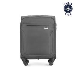Kabinový cestovní kufr, šedá, V25-3S-261-00, Obrázek 1