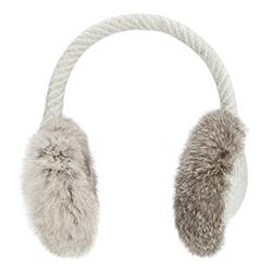 Klapky na uši, šedá, 87-HF-022-8, Obrázek 1