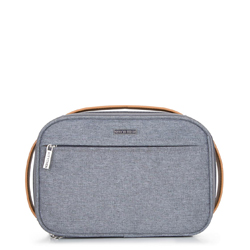 Kosmetická taška, šedá, 92-3-109-1, Obrázek 1