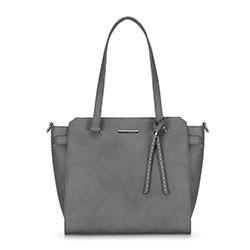 Dámská kabelka, šedá, 89-4Y-401-8, Obrázek 1