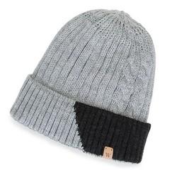 Panská čepice, šedá, 91-HF-005-8, Obrázek 1