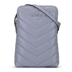 Dámská kabelka, šedá, 92-2E-658-8, Obrázek 1