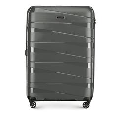 Velký kufr, šedá, 56-3T-793-00, Obrázek 1
