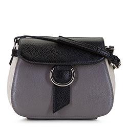 Dámská kabelka, šedo-černá, 92-4E-305-8, Obrázek 1