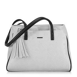 Dámská kabelka, šedo-černá, 90-4Y-603-8, Obrázek 1