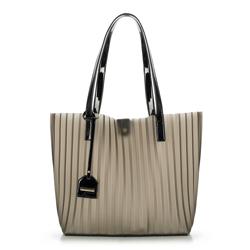 Dámská kabelka, šedo-černá, 90-4Y-714-1, Obrázek 1