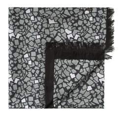 Pánská šála, šedo-černá, 83-7M-S41-X9, Obrázek 1