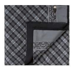 Pánská šála, šedo-černá, 83-7M-X40-X1, Obrázek 1