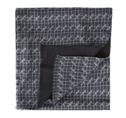 Pánská šála, šedo-černá, 84-7M-X01-X01, Obrázek 1