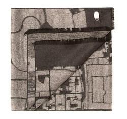 Pánská šála, šedo-černá, 85-7M-S41-X2, Obrázek 1