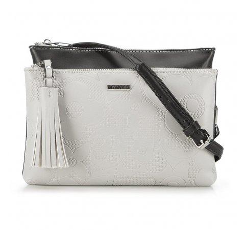 Dámská kabelka, šedo-černá, 90-4Y-604-8, Obrázek 1