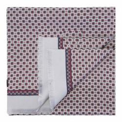 Pánská šála, šedo-červená, 89-7M-S41-X3, Obrázek 1