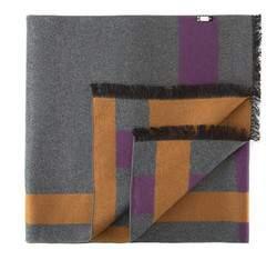Pánská šála, šedo-fialová, 81-7M-S40-X03, Obrázek 1