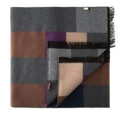 Pánská šála, šedo-fialová, 81-7M-S40-X06, Obrázek 1