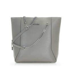 Dámská kabelka, šedo-hnědá, 86-4E-417-8, Obrázek 1