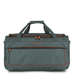 Cestovní taška, šedo-oranžová, 56-3S-466-01, Obrázek 1