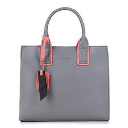Dámská kabelka, šedo-oranžová, 88-4Y-208-8, Obrázek 1