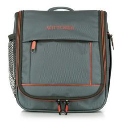 Toaletní taška, šedo-oranžová, 56-3S-464-01, Obrázek 1