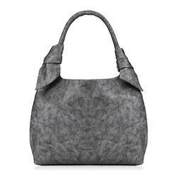 Dámská kabelka, šedo-stříbrná, 89-4Y-350-1, Obrázek 1