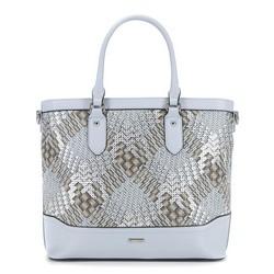 Dámská kabelka, šedo-stříbrná, 90-4Y-752-8, Obrázek 1