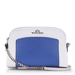 Dámská kabelka, šedo-tmavě modrá, 86-4E-424-8, Obrázek 1