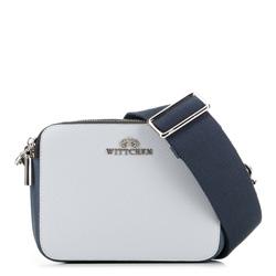 Dámská kabelka, šedo-tmavě modrá, 89-4E-507-X3, Obrázek 1