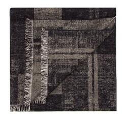 Pánská šála, šedo-tmavě modrá, 85-7M-S40-X12, Obrázek 1