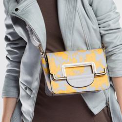 Dámská kabelka, šedo-žlutá, 86-4Y-510-Y, Obrázek 1