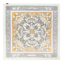 Dámský šátek, šedo-žlutá, 90-7D-S14-X5, Obrázek 1