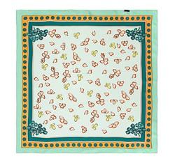Frauen Halstuch, seladongrün - orange, 86-7D-S13-X9, Bild 1
