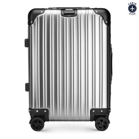 Маленький чемодан, серебряный, 56-3H-101-11, Фотография 1