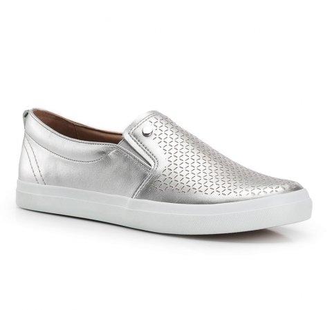 Обувь женская, серебряный, 86-D-702-2-38, Фотография 1