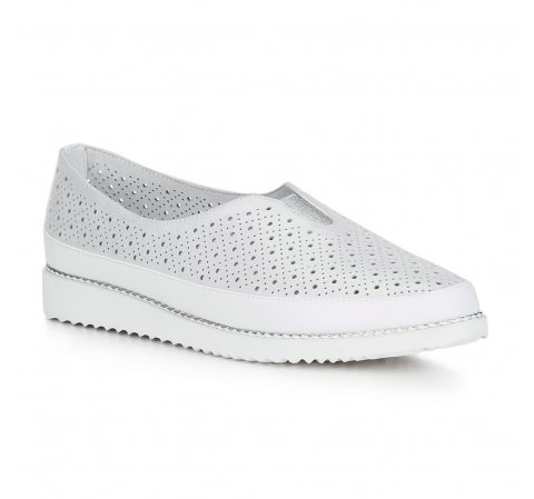 Обувь женская, серебряный, 88-D-952-S-38, Фотография 1