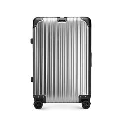 Средний чемодан, серебряный, 56-3H-102-11, Фотография 1