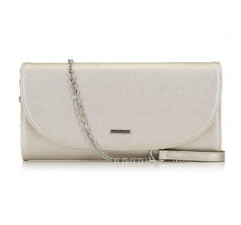 Женская вечерняя сумка из коллекции Young, серебряный, 91-4Y-604-S, Фотография 1