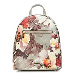Рюкзак женский, серо-бежевый, 90-4Y-612-X2, Фотография 1