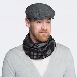 Мужская кепка, серо - черный, 87-HF-034-8, Фотография 1