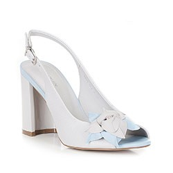 Обувь женская, серо-голубой, 88-D-554-8-36, Фотография 1